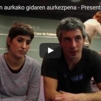 Errepresioaren aurkako gidaren aurkezpena – Presentación de la guia antirepresiva (Gasteiz)