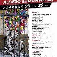 Preso politikoen aldeko kultur astea Orbainen / Semana cultural por lxs presxs políticxs en Orbain